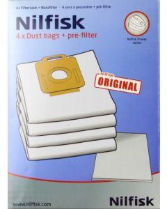 Nilfisk Power series Vacuum Bags (1470416500)